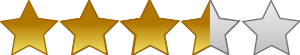 This image has an empty alt attribute; its file name is 5_star_rating_system_3_and_a_half_stars_t.png